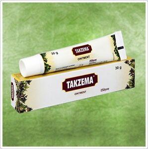 Details about Charak TAKZEMA Ointment Eczema Allergy & Skin Irritation 30  gm size