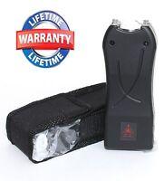 Blk 99 Million Volt Mini self defense Stun Gun w/ LED Light + Free taser holster