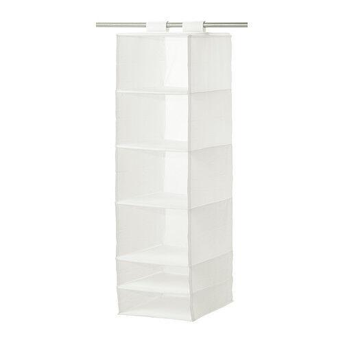 Superieur IKEA SKUBB Hanging Green Closet Organizer 6 Storage Compartments | EBay