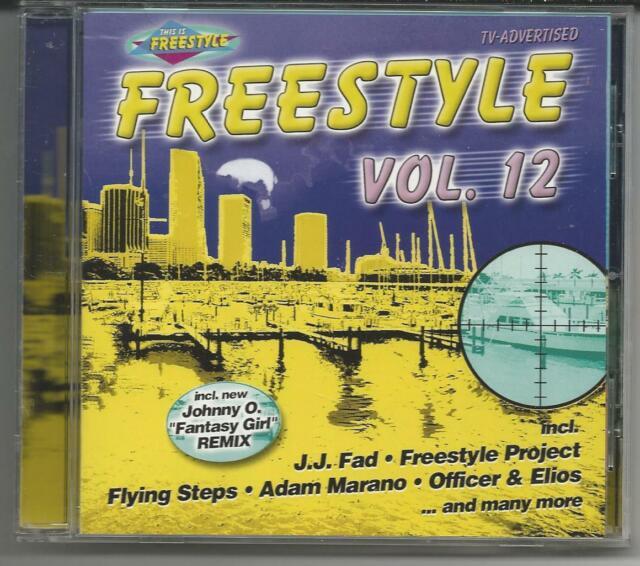 "Freestyle Vol.12 - CD 2000 - NEU/NEW BVSMP/Flying Steps/Johnny O ""Fantasy Girl"""