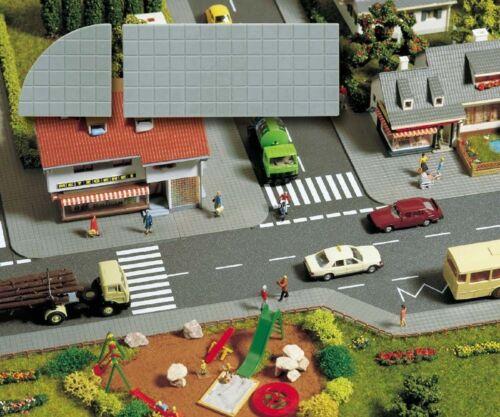 1m²=140,11€ 21x21mm 4 Stck Gehwegplatten 49x21mm 14 Stck BUSCH 6029 H0
