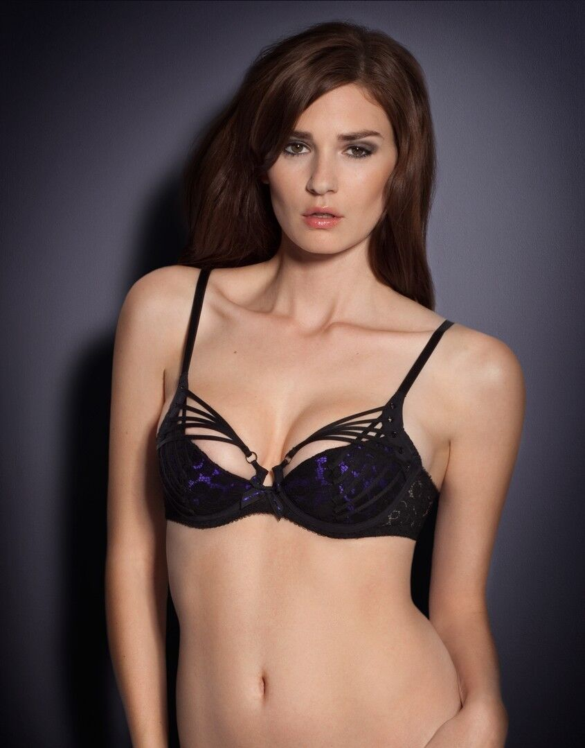 Agent Provocateur RUDY Demi Cup Bra Size  36B Ret   220 New with Tags