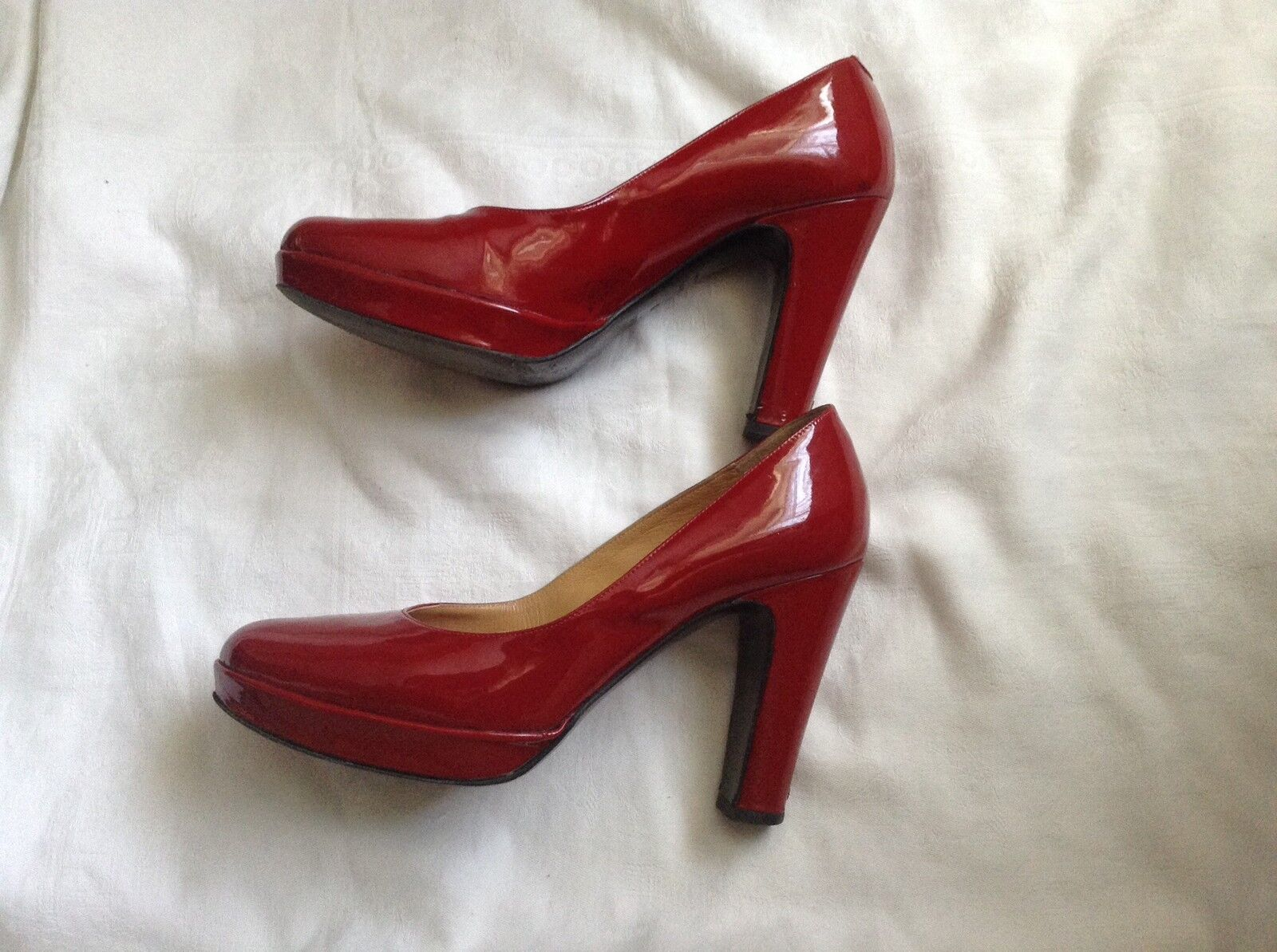 Hermes Patent Leather Größe heels,Größe 38, Größe Leather 5 UK ae9644