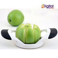Stainless Steel Apple Slicer Pear Cutter Corer Fruit Tool Kitchen Gadget