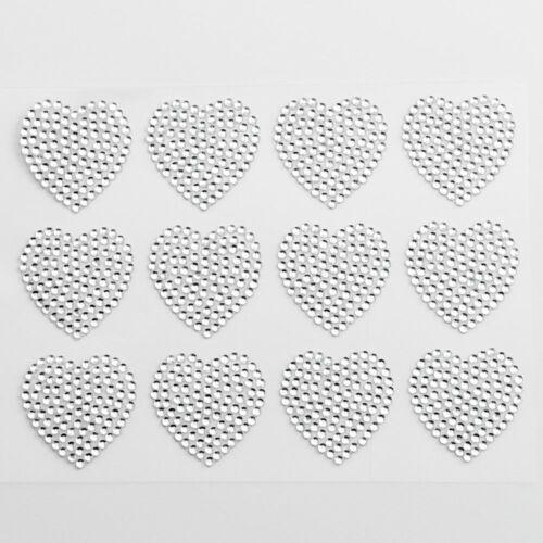 Self Adhesive Craft Stickers Diamante Rhinestone Gems Words Embellishment
