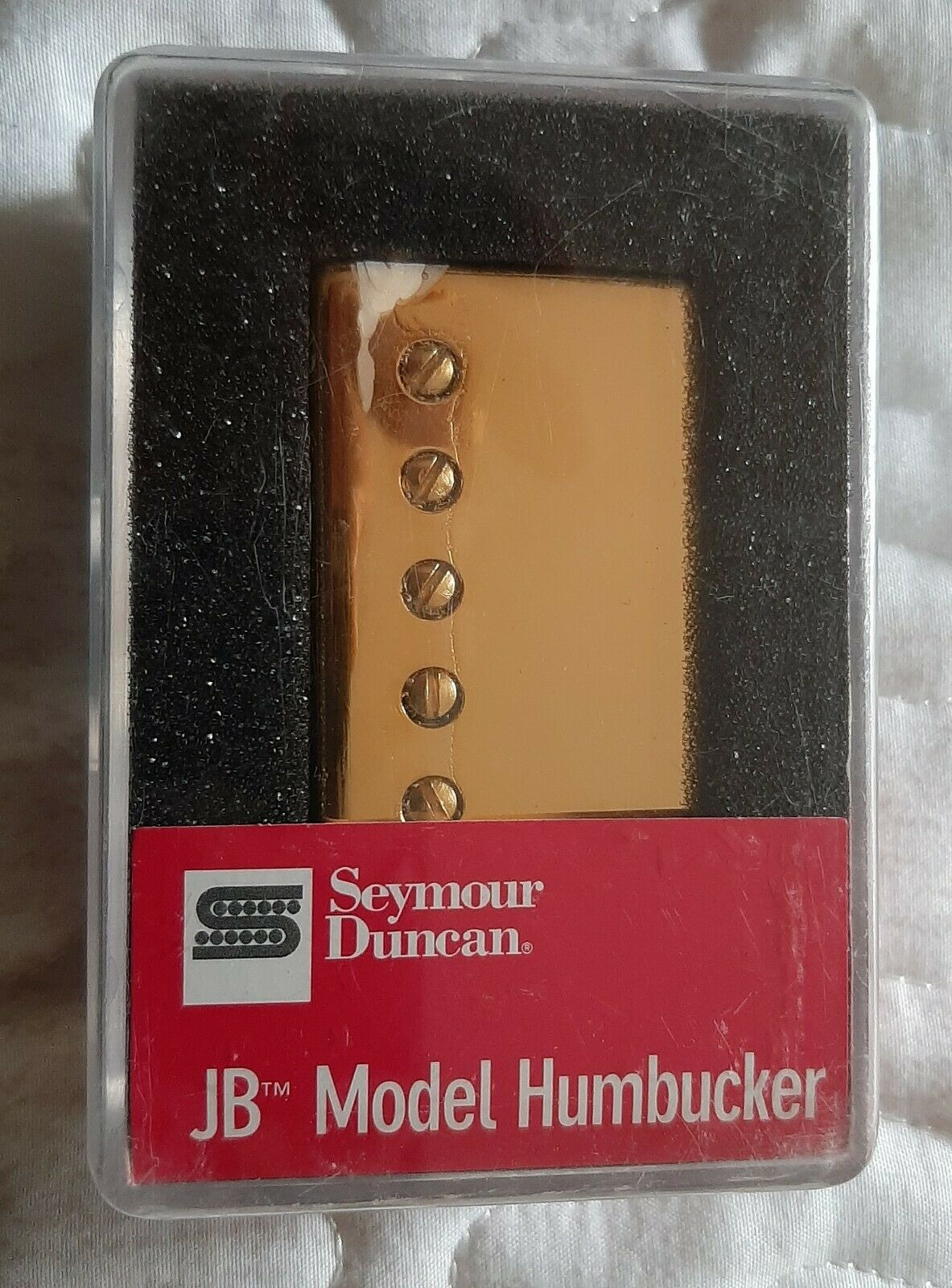 Seymour Duncan JB SH-4 Gold cover NEW