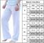 Plus-Size-Men-Casual-Linen-Loose-Wide-Leg-Pants-Holiday-Yoga-Gym-Long-Trousers thumbnail 9