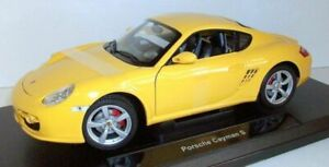 Welly-1-18-Scale-18008w-Porsche-Cayman-S-Yellow