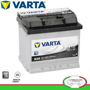 Batteria-Avviamento-Batteria-Varta-45Ah-12V-Black-Dynamic-B20-545-413-040