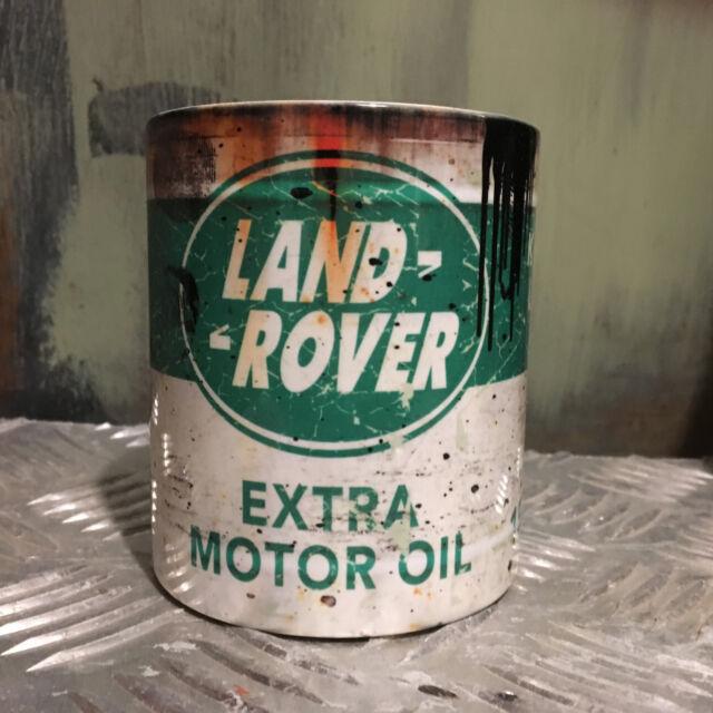 Land Rover mug motor oil can Gift Car Mechanic Gift 11oz Tea coffee gift