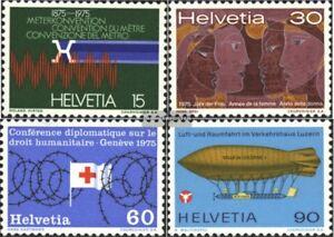 Schweiz-1046-1049-kompl-Ausg-gestempelt-1975-Jahresereignisse
