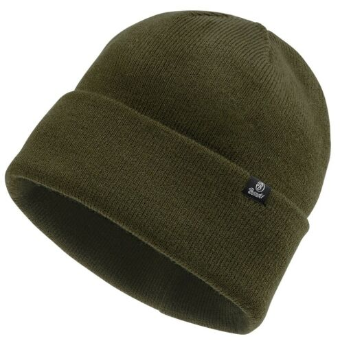 Nouveau Armée rollstrickmütze Coton Bonnet Hiver Casquette Olive Noir Bleu watchcap