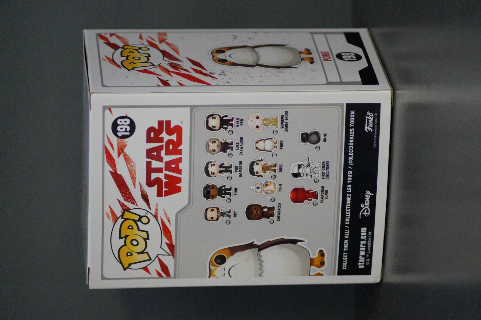 FUNKO POP STAR WARS WARS WARS porg 198 NEU OVP chase limited edition 07eb74