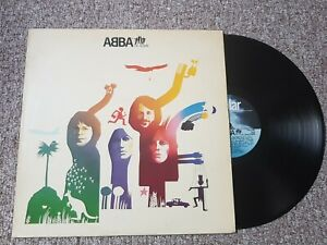 ABBA-THE-ALBUM-POLAR-Vinyl-LP-180gram-Remaster