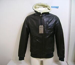 Black Hood M99414 Man Jacket Leather Eco Palomar Markup 8300687994145 M Ixqw6P5P0n