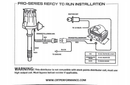 FORD FLATHEAD 239-255 V8 Small HEI Distributor BLACK 60K Coil Plug Wires USA