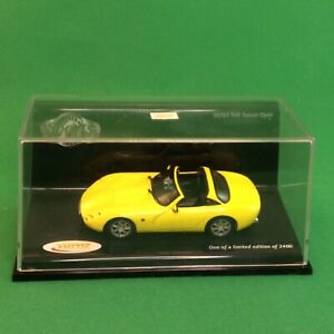 Vitesse-35701-1-43-2000-TVR-Tuscan-Yellow-Open-MINT-BOXED-1of-2400-2-205