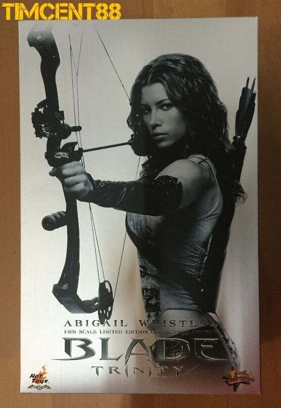 Prêts  Hot Toys MMS128 Blade Trinity Abigail Whistler Jessica Biel 1 6 Figure