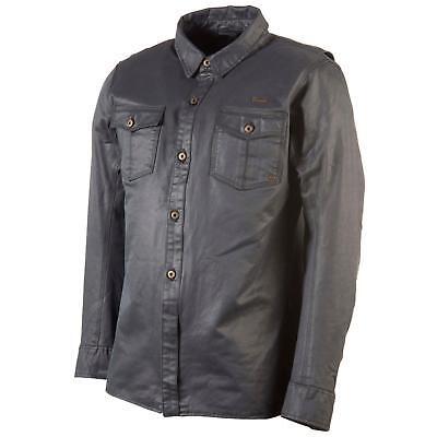 Trilobite Distinct Moto Shirt Giacca Uomo Incl. Protezioni Facilmente Blu-mostra Il Titolo Originale