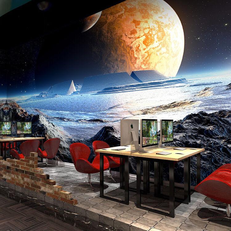 3D Mond Schönheit 2550 Fototapeten Wandbild Fototapete BildTapete FamilieDE