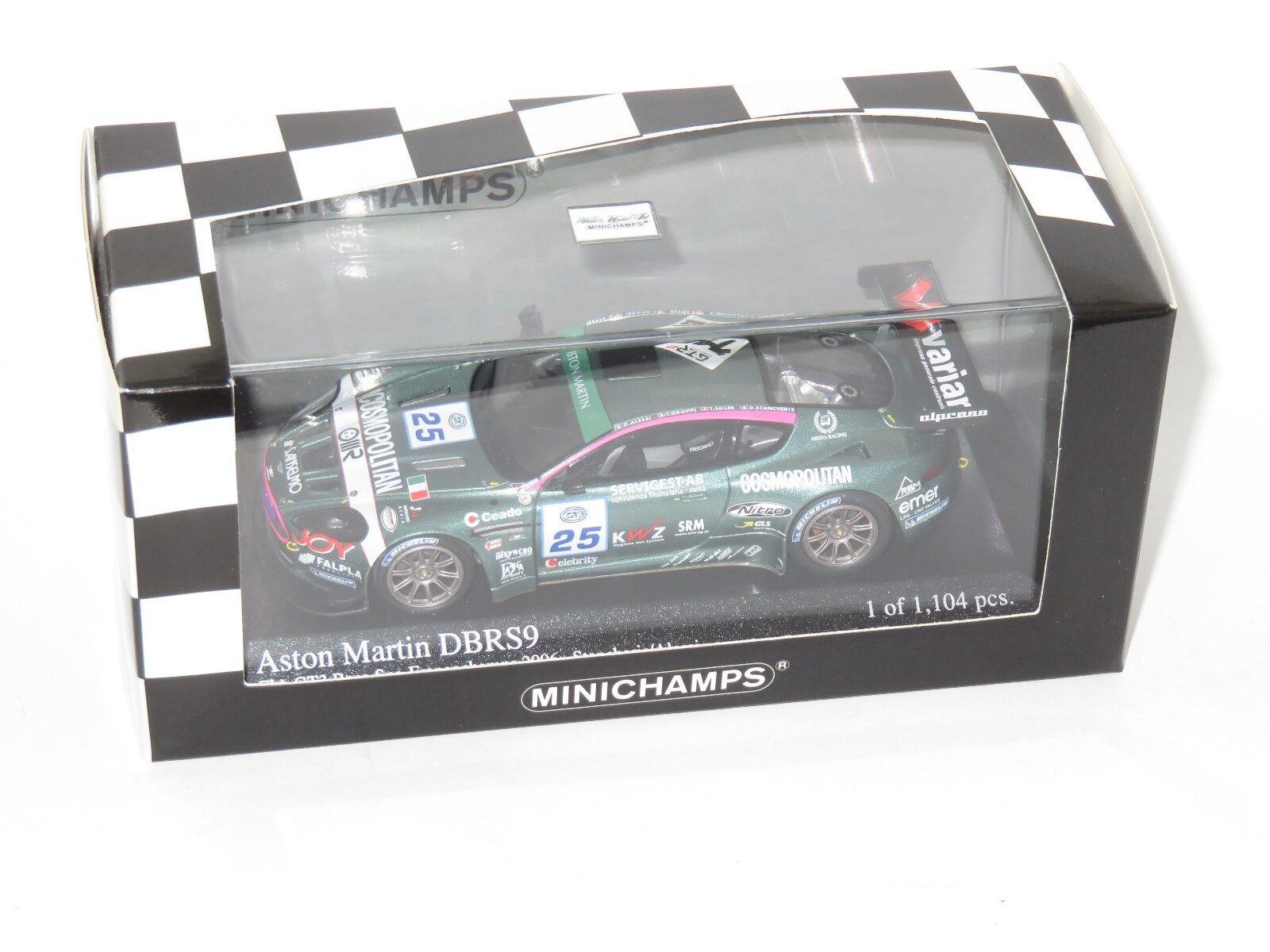 1/43 ASTON MARTIN DBRS 9 SCUDERIA ITALIA FIA GT3 SPA 2006  25 stancheris/Alessi