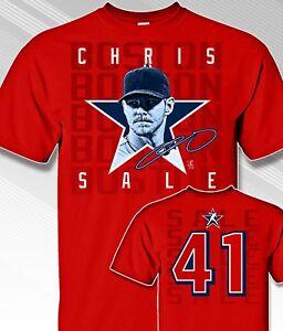 Boston-Red-Sox-CHRIS-SALE-41-MLBPA-Star-Power-Youth-Boys-Cotton-Tee-Shirt-Red