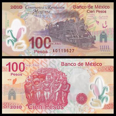 2017 100 Pesos PUnlisted Unc Mexico