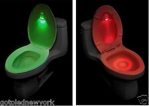 Toilet Led Light Sensor Night Motion