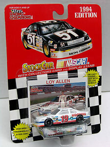 1994-Loy-Allen-19-Hooters-Ford-NASCAR-1-64-Scale-Stock-Car