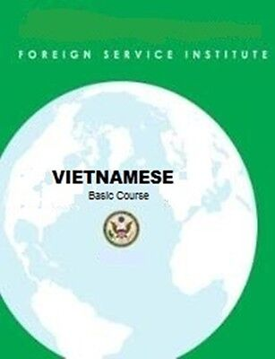 Complete VIETNAMESE FSI Language Course Vol 1 & Vol 2 and More!!!
