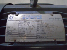 New Listingsterling Eletric Motor 3hp 3phase 575volts 1827 Frame