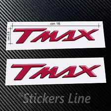 Scritte adesive Tmax resinati ROSSO METAL scritta tmax resinata t max 500 530