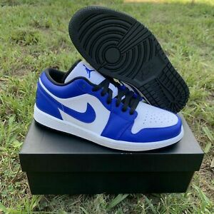 jordan retro 1 blue and black