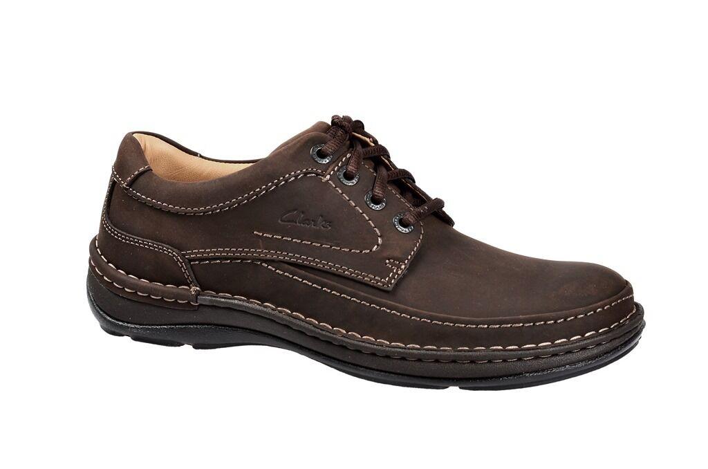 Clarks Schuhe NATURE THREE braun Herrenschuhe 20340682 7 NEU