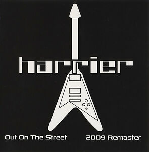 HARRIER-Out-On-The-Street-EP-CD-2009-Remastered-cardboard-sleeve-NWOBHM
