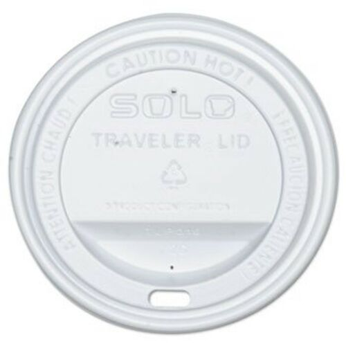SOLO Cup Company Traveler Lids Fits 12 oz /& 16 oz Hot Beverage Cup 300 Pack