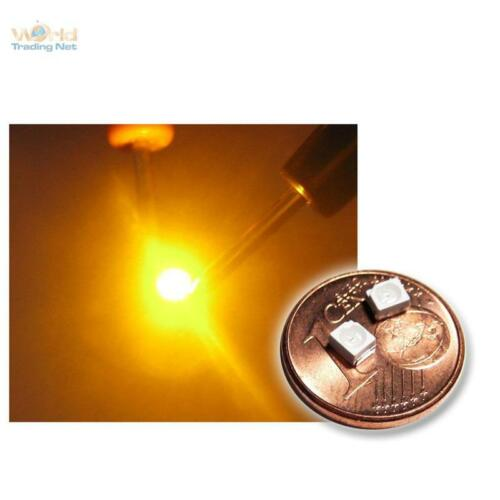 50 SMD LED Sop 2 3528 amarillo mini LEDs jaune SMT Geel