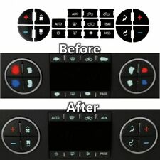 Premium AC Dash Button Repair Kit for Fixing Worn Damaged A//C Control Buttons reakfaston 3 Pack AC Dash Button Sticker
