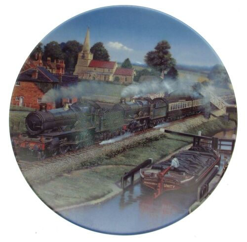 Morning Bright Memories in Motion train plate Barry Freeman CP2355