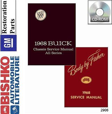1970 Buick GS 455 Riviera Skylark Wildcat Shop Service Repair Manual CD OEM