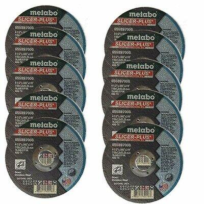 "Metabo 55.998 55998 6/"" Slicer-Plus Cut-off Wheels-Box of 50 655998000"