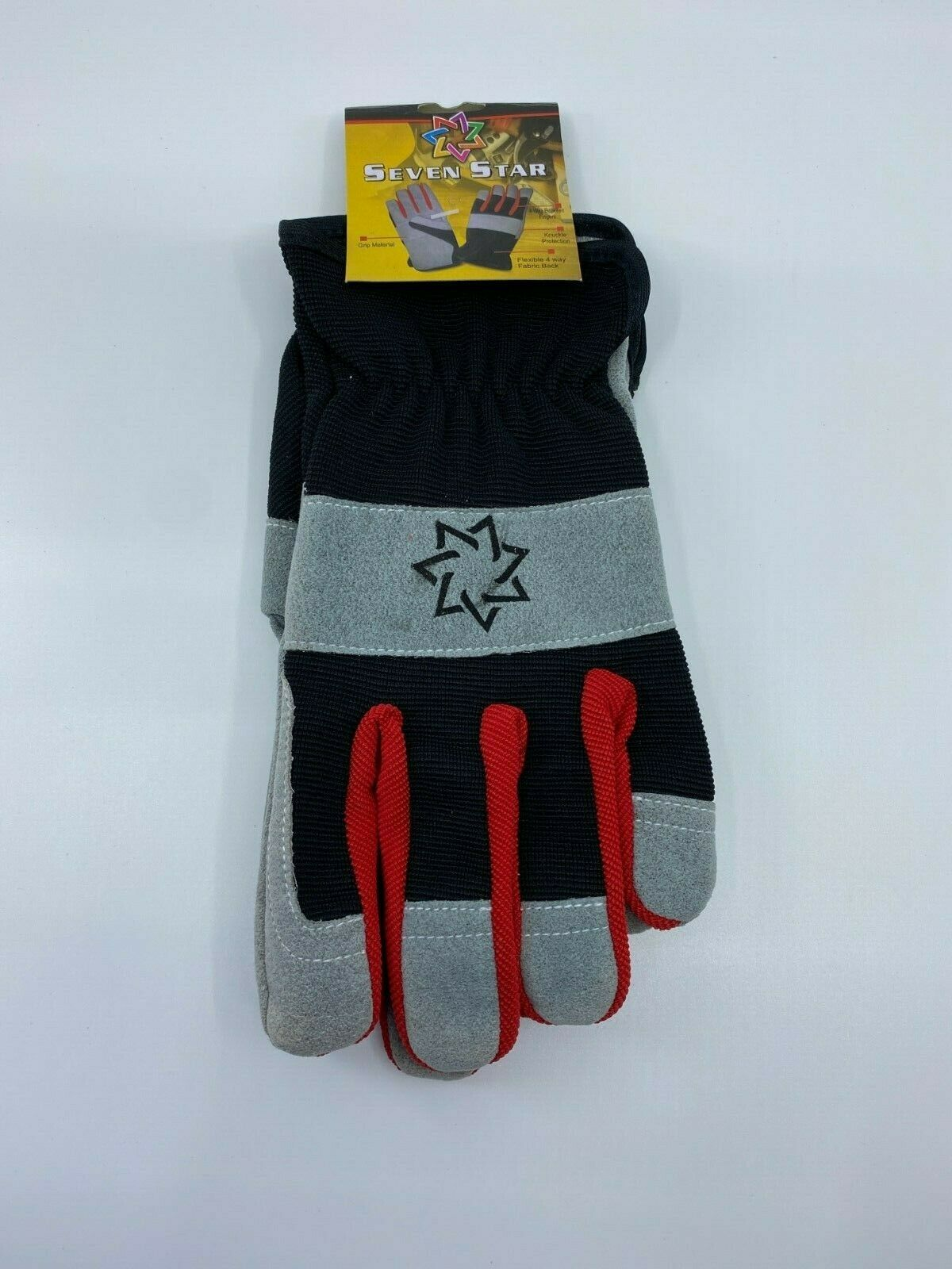 1/3/6/9/12 Pairs of Synthetic Leather Wear Work & General Purpose Gloves (PPE)