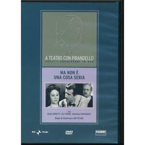 Ma non e una cosa seria - A Teatro Con Pirandello - Fabbri - DVD DL001035