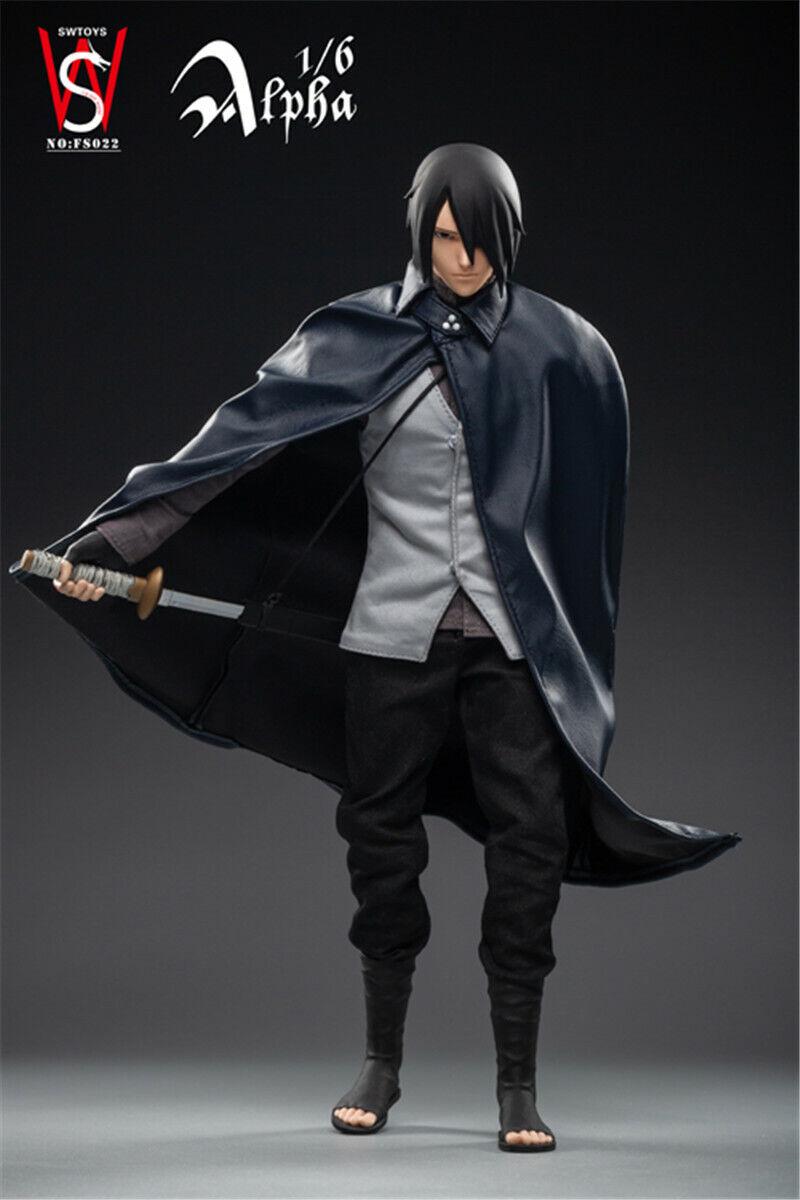 SWTOYS FS022 1 6 Kakashi Sasuke Figure 12  Naruto Mobiliers poupée modèle