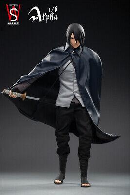 1//6 SWTOYS FS022 Uchiha Sasuke Action Figure 12/'/' Naruto Movable Model Collect