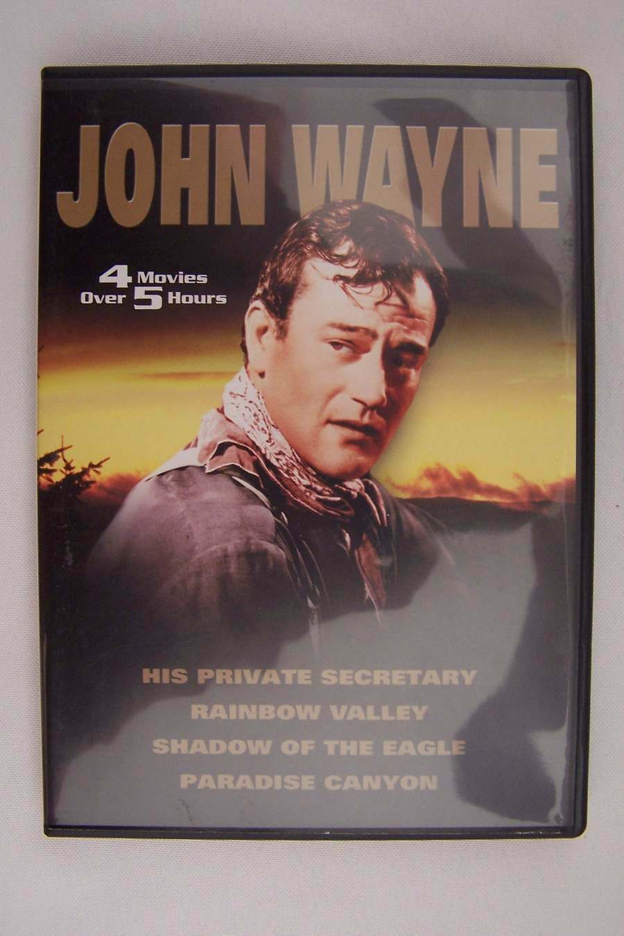 John Wayne 4 Movie DVD