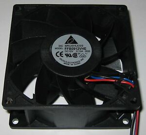 Delta-92-mm-High-Power-Cooling-Fan-6-Watt-12-V-85-CFM-FFB0912VHE