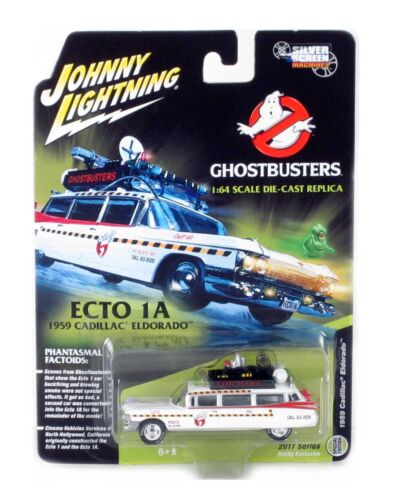 "1959 Cadillac Eldorado ECTO 1A /""Ghostbusters/"" 1//64 Scale Silver Screen Machines"