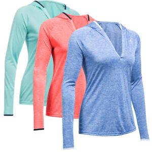 Under Armour Twist Tech Long Sleeve Hoodie Kapuzen Shirt Sport Pullover 1269181