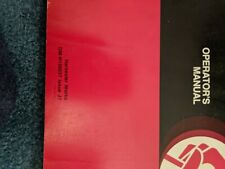 John Deere 6600 7700 Combine Operation Amp Maintenance Manual Book